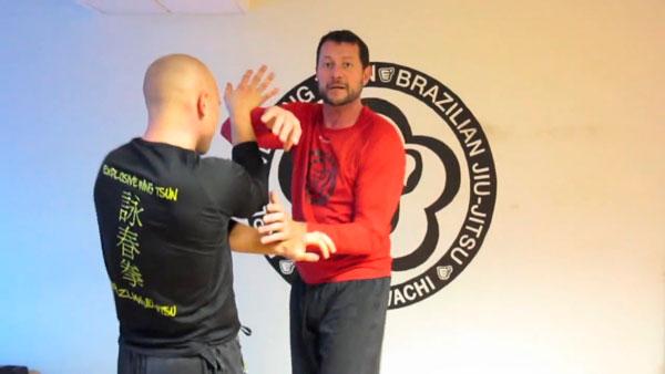 Philip Pilavachi og Jakob Arentoft træner Explosive Wing Tsun